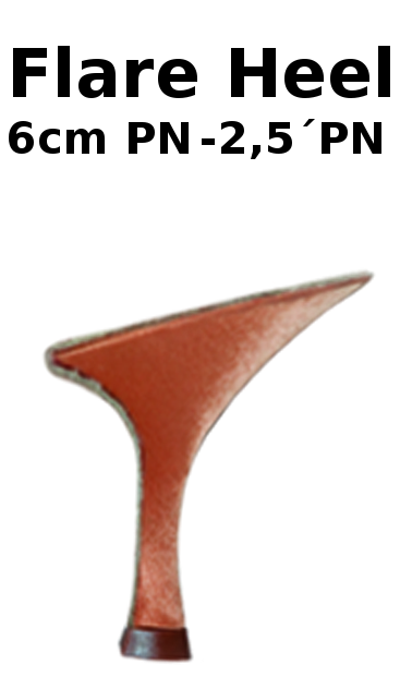 """2,5"""" Flare PN - 6 cm Flare PN"""
