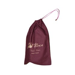 Shoe bag with drawstring
